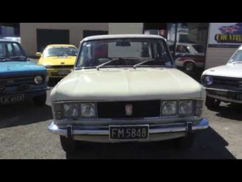Fiat 125 walk around