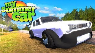 Building My First Car! My Summer Car Episode 1! (My Summer Car)