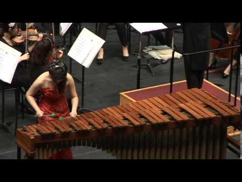 P. Creston -  Marimba Concerto  3rd mov Tocata(인천예고 제17회)