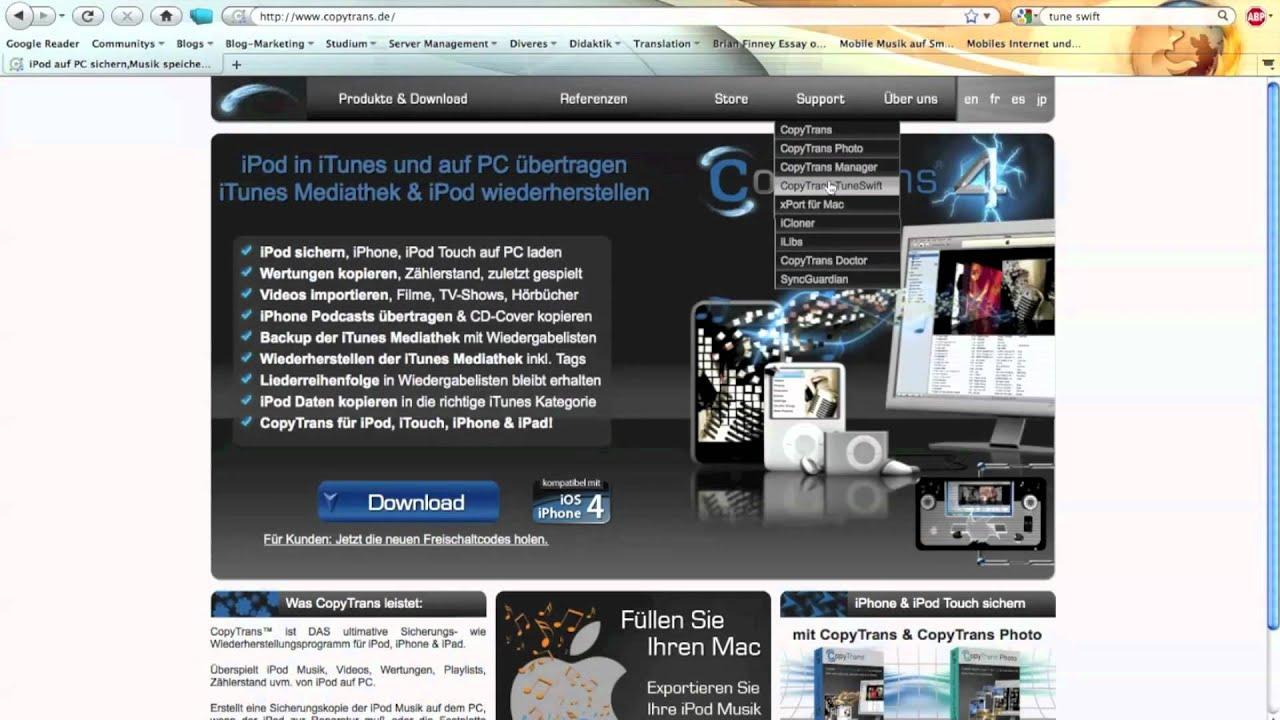 iphone mediathek auf mac übertragen