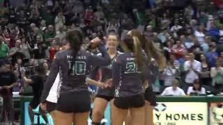 Hawaii Women's Volleyball Highlights vs. Pepperdine  9-17-16
