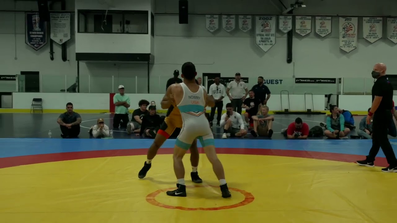 USA Wrestling Olympic Camp Training Match: Max Nowry vs Michael Fuenffinger
