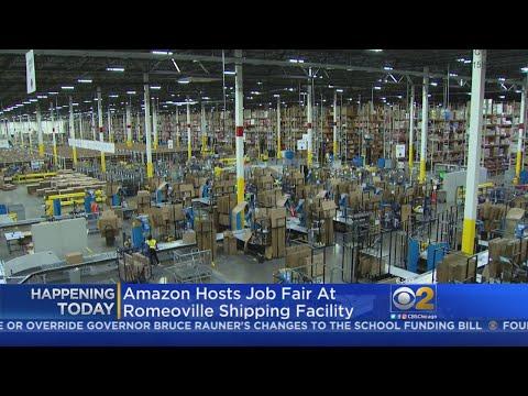 Amazon Hiring 2,500 At Chicago Area Job Fair