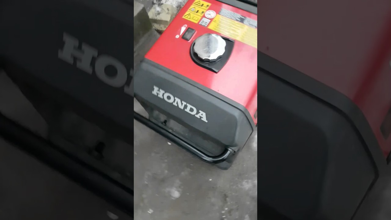 Инверторный генератор Honda EU10I - YouTube
