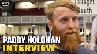 Paddy Holohan Reacts to Being Elected: 'This is an Extremely Proud Moment' - MMA Fighting