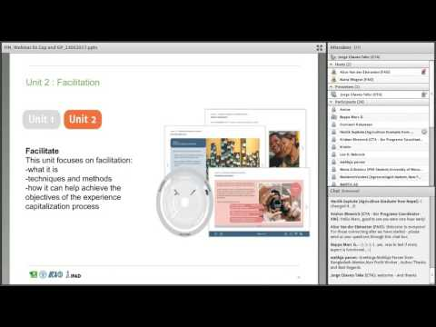 e-Agriculture webinar – Experience capitalization and good practices