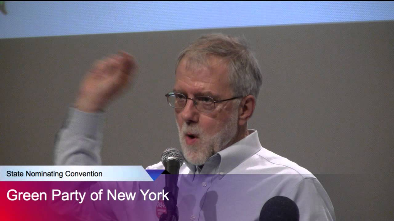 Howie Hawkins Ogranizing and Empowering Working People - Green Party NY Gov Nomination