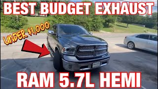 Top 5 Best Budget Exhaust For Ram 1500 5 7l Hemi Youtube