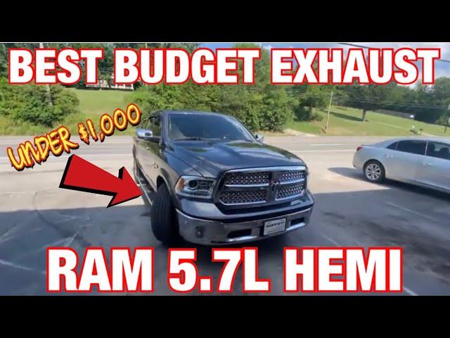 top 5 best budget exhaust for ram 1500