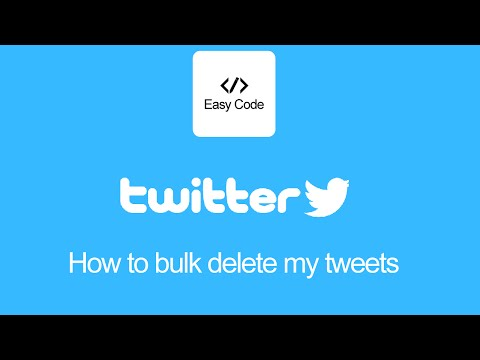 Easy way to bulk delete your old tweets cut