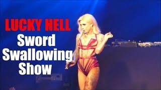 LUCKY HELL - SWORD SWALLOWING SHOW at Helsinki Pride