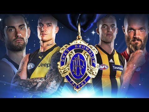 2018 BROWNLOW MEDAL ANALYSIS