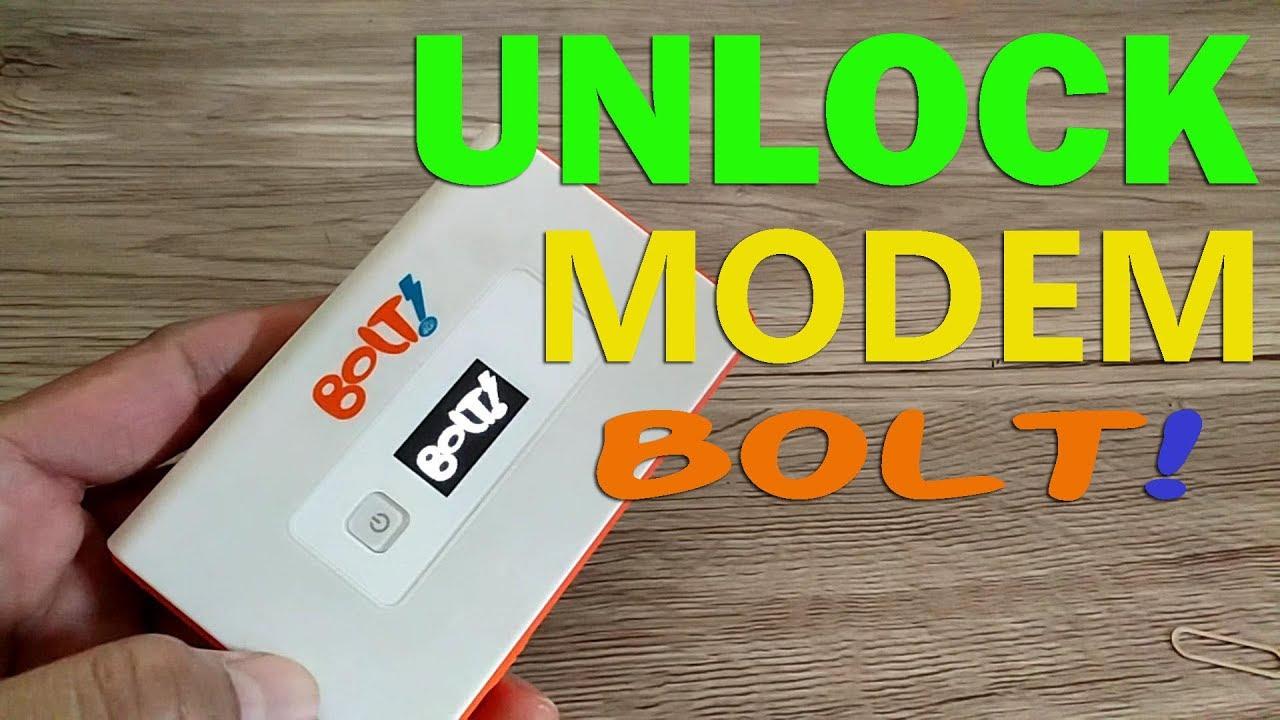 Unlock Modem Bolt Orion MoviMax MV1