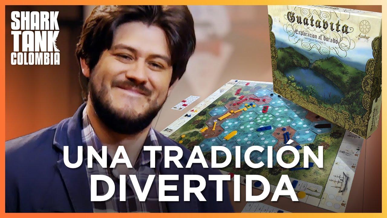 Juegos de mesa colombianos para el mundo entero | Shark Tank Colombia