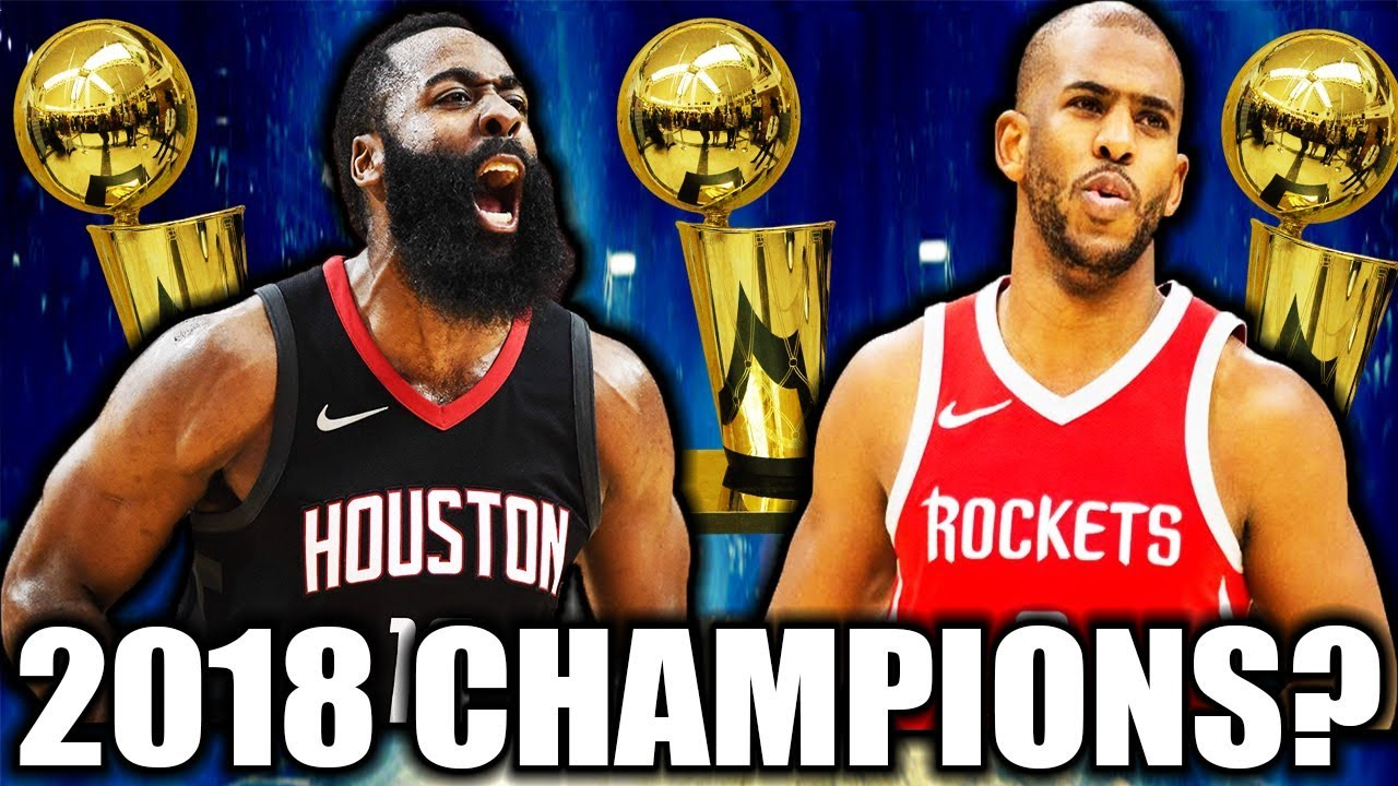 Can the Rockets beat the Warriors and win the 2018 NBA