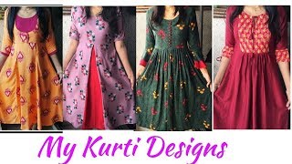 My Kurti Designs 35 Beautiful kurtis Collection kurti designs