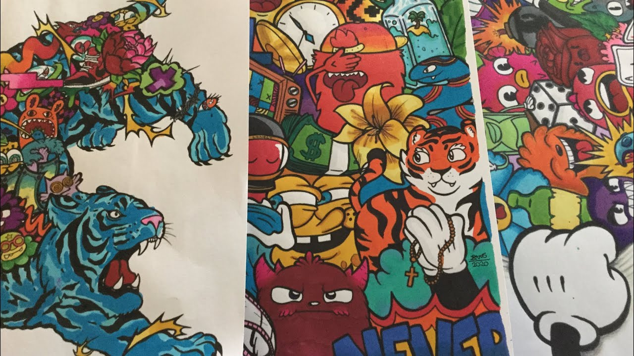 Colouring In VEXX Colouring Sheets - YouTube