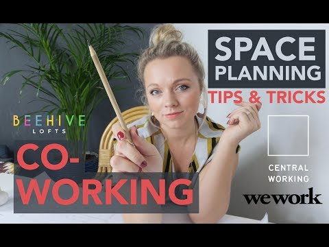 SPACE PLANNING TIPS AND TRICKS | CO-WORKING OFFICE