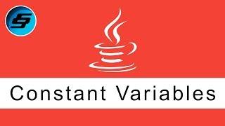 Constant Variables - Java Programming