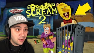 Spongebob Ice Scream Is Really Weird (and kind of awesome...) | Ice Scream 2: Horror Neighborhood