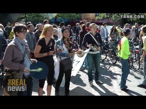 Berlin Tenants' Movement Occupy Square