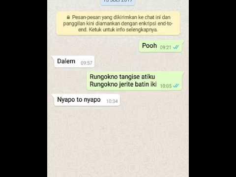 NDX FEAT DELASANTIKA - TANGISE ATIKU    PRANK TEXT PAKE BAHASA JAWA BIKIN BAPER