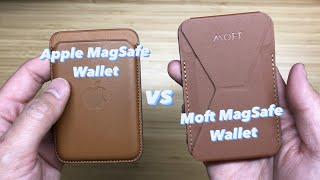 Apple MagSafe Wallet vs. Moft MagSafe Wallet!