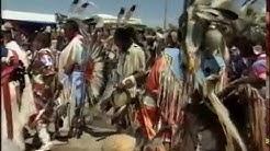 Pow Wow der Sioux Indianer mit Rodeo in Pine Ridge Reservation / USA