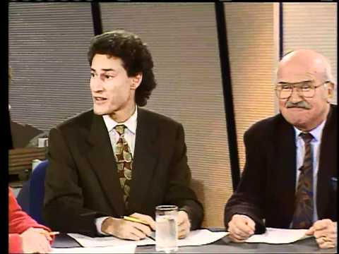 Steve Paikin's TVO debut with Elwy Yost (1992)
