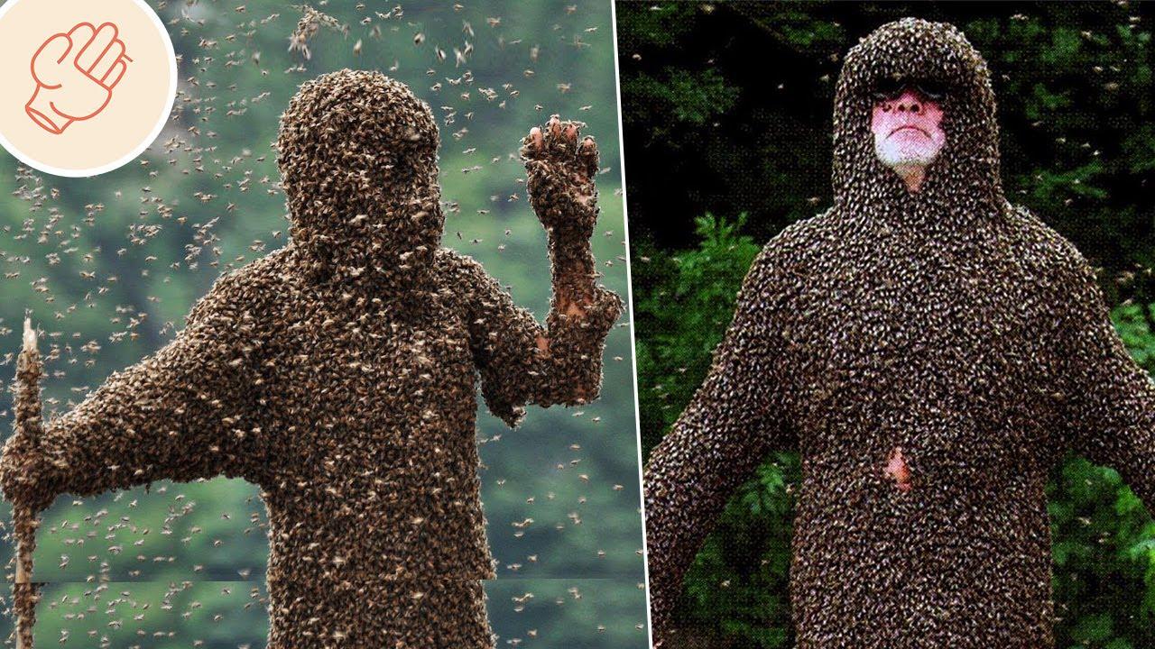 能控制蜜蜂的神人!令人驚歎的超能力者