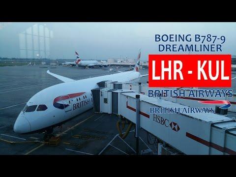 British Airways BA33: London Heathrow LHR ✈ KL Int