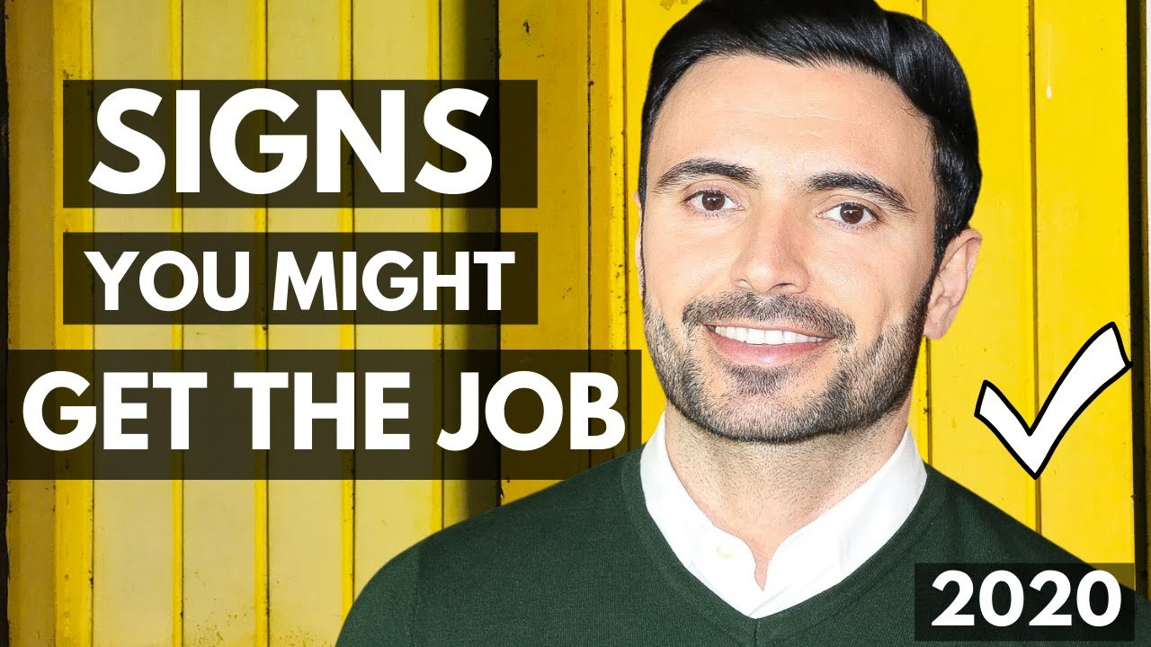 signs your interview went well and you could get the job