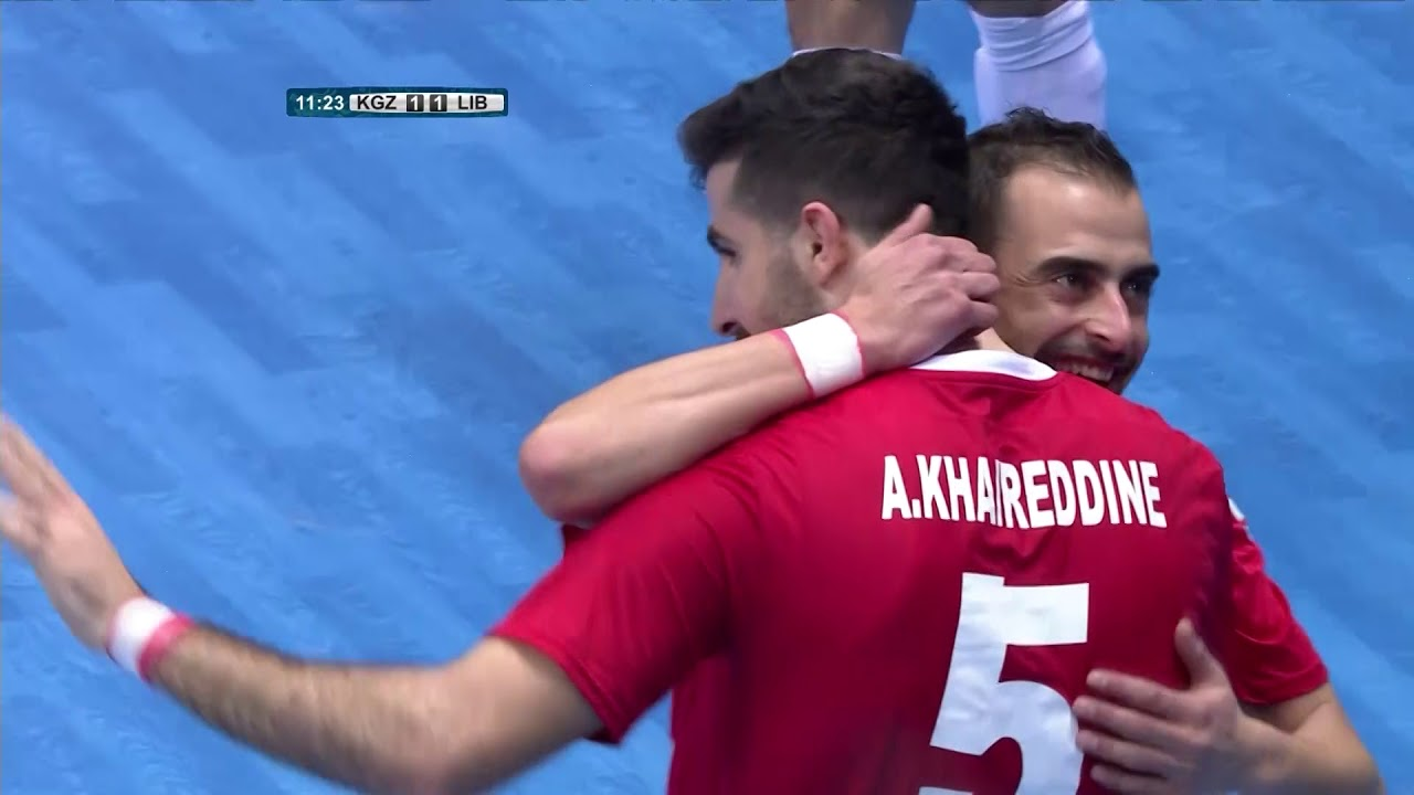 Video: Futsal Kyrgyzstan vs Futsal Liban