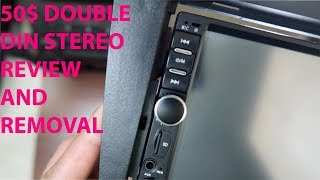 $50 Double Din Review and Removal (HD MP5)