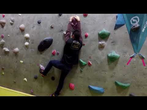 Improve your climbing - footwork, slopers and flagging - a recap on the first adult improver night