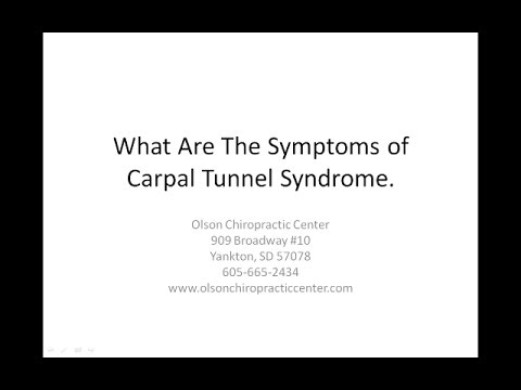 Symptoms of Carpal Tunnel Synd...
