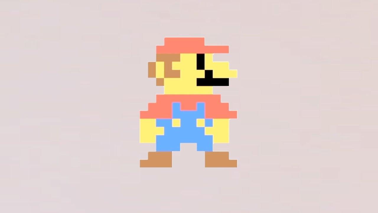 Comment Dessiner Mario En Pixel Art