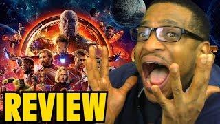 AVENGERS: Infinity War MOVIE REVIEW - Marvel Studios