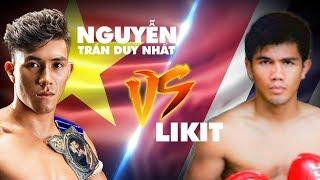 'ĐỘC CÔ CẦU BẠI' Nguyễn Trần Duy Nhất đại chiến cùng võ sĩ Thái Lan