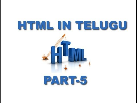 Html In Telugu About Link Part 5(www.timecomputers.in)
