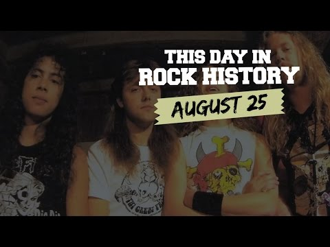 Bruce Springsteen + Metallica Issue Signature Albums - August 25 in Rock History