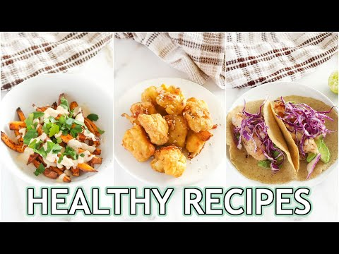 NEW Healthy Recipes You NEED To Try! easy healthy meals