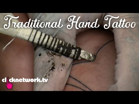 Traditional Hand Tattoo