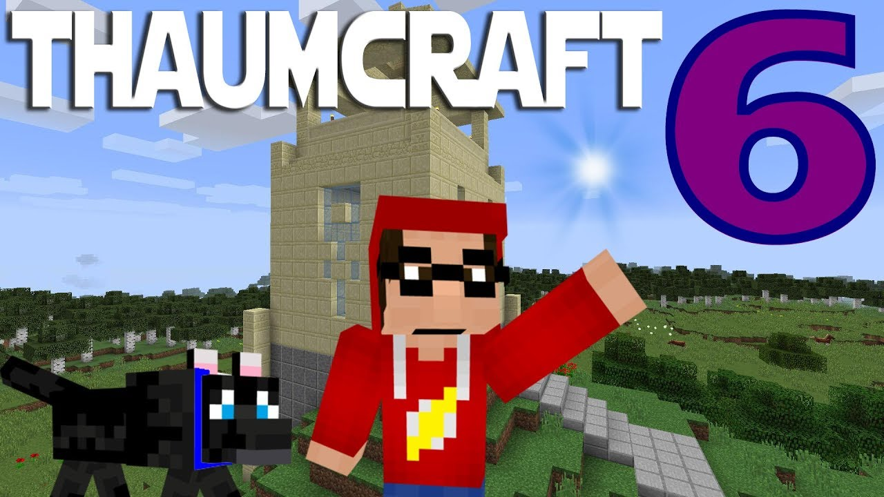 Lets Play Minecraft Thaumcraft 6 ep 1 - Getting Started With