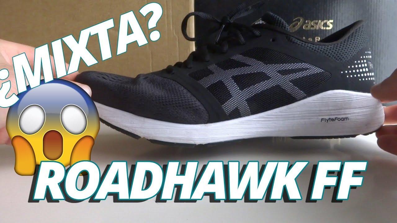 Asics Roadhwak: Zapatilla running ligera y ágil. (245gr