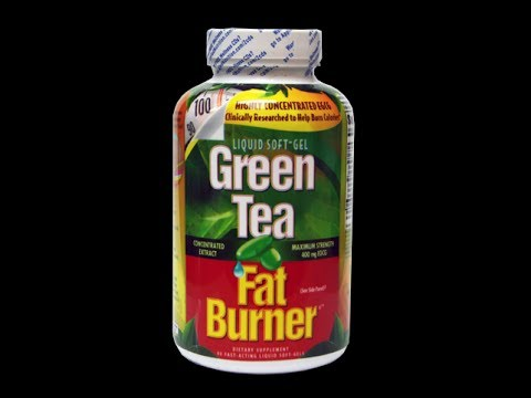 Green tea fat burner pills work