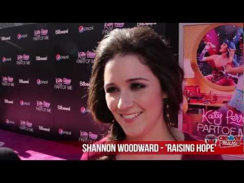 Shannon Woodward Talks Best Friend Katy Perry at Movie Premiere