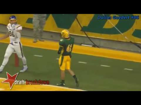 Dallas Goedert (TE, South Dakota State)Film Session