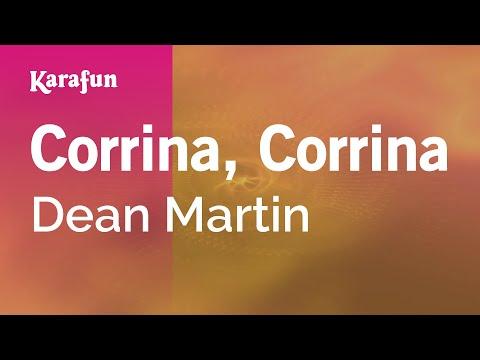 Karaoke Corrina, Corrina - Dean Martin *