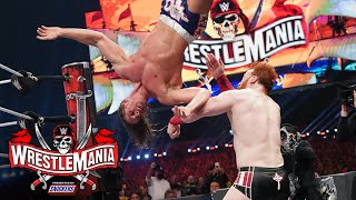 Riddle puts on an aerial show against Sheamus: WrestleMania 37 – Night 2 (WWE Network Exclusive)